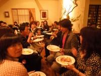 ファンの方々にも大野さんとの食事を楽しんでいただきました♪