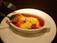 トリッパのトマト煮 ビスマルク風